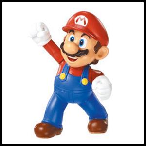 Figura Super Mario 6cms.
