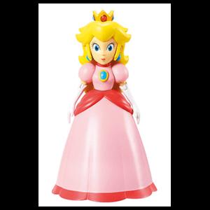Figura Princesa Peach con Corona 10cms