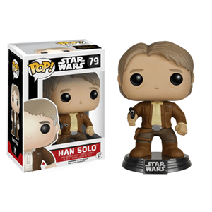 Figura Pop Star Wars VII: Han Solo