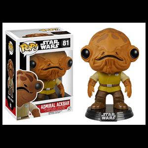 Figura Pop Star Wars VII: Almirante Ackbar