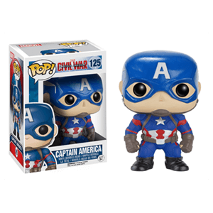 Figura Pop Marvel Civil War: Capitán América