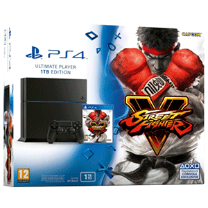 Playstation 4 1Tb + Street Fighter V