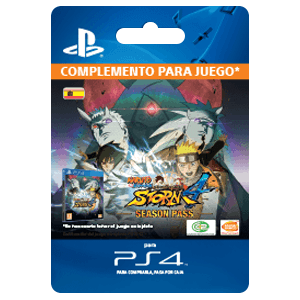 Naruto Shippuden Ultimate Ninja Storm 4 Season Pass PS4