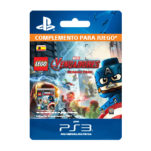 Lego Marvel's Avengers Season Pass PS3