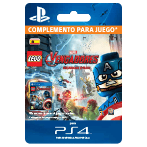 Lego Marvel's Avengers Season Pass PS4