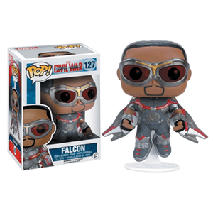 Figura Pop Marvel Civil War: Halcón