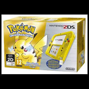 Nintendo 2DS Transparente Amarillo + Pokemon Amarillo (Preinstalado)