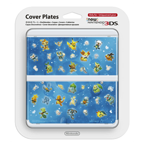 New 3DS Carcasa: Pokemon Mundo Megamisterioso
