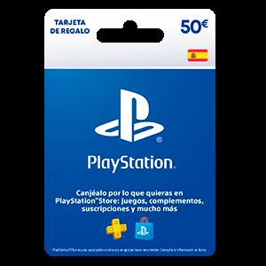 Tarjeta prepago PSN 50€