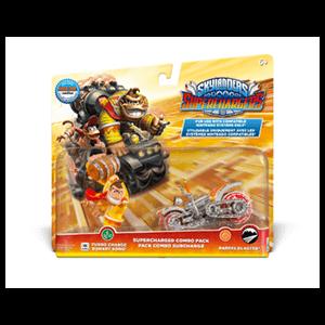 Pack Dual Skylanders SuperChargers Nintendo Donkey Kong + Barrel Blaster