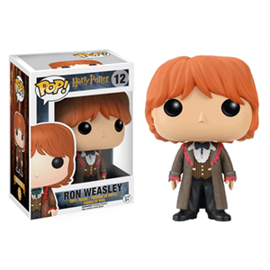 Figura Pop Harry Potter: Ron Weasley en El Cáliz de Fuego