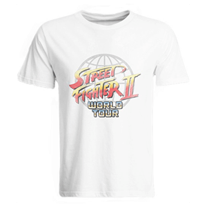 Camiseta Street Fighter II World Tour Talla XL