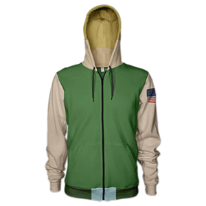 Sudadera Street Fighter V: Guile Talla XL