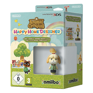 Animal Crossing Happy Home Designer + Amiibo Canela Edición Verano