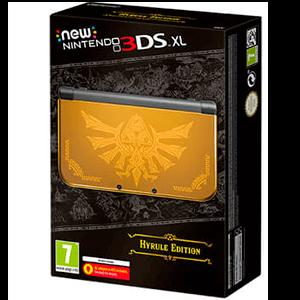 New Nintendo 3DS XL Edición Hyrule Edición Limitada