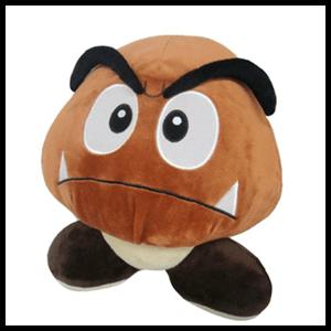Peluche Super Mario: Goomba 14cms