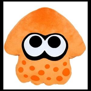 Peluche Splatoon: Calamar Naranja 35cms