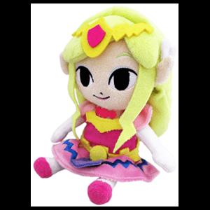 Peluche Zelda: Princesa Zelda 17cms