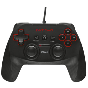 Trust GXT 540 Wired PC-PS3 - Gamepad