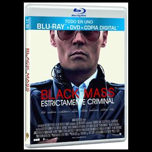 Black Mass DVD+BD+DC