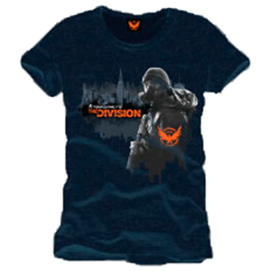 Camiseta The Division Negra Talla S