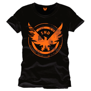 Camiseta The Division Negra SHD Logo Talla M