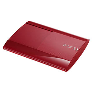 Playstation 3 Slim 12Gb Roja