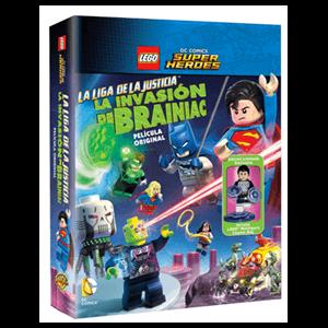 Lego Liga De La Justicia: La Invasión De Brainiac + Minifigura Lego