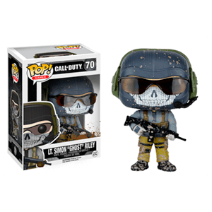 Figura Pop Call of Duty: Teniente Simon Ghost