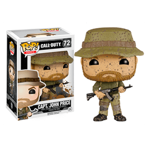 Figura Pop Call of Duty: Capitán John Price