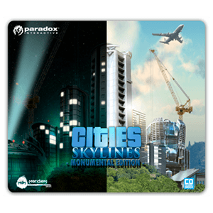 Alfombrilla Cities Skylines Monumental Edition