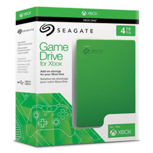 Disco Duro Seagate 4TB Game Drive XONE