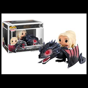 Figura Pop Juego de Tronos: Daenerys con Drogon