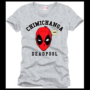Camiseta Deadpool Chimichanga Gris Talla XL