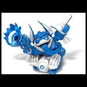 Figura Skylanders Superchargers Driver Trigger Happy Blue Deco