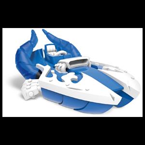 Figura Skylanders Superchargers Vehiculo Splatter Splasher Blue Deco