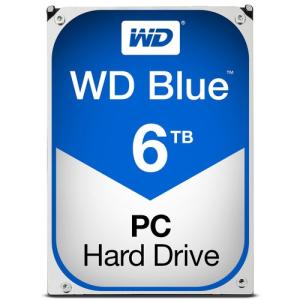 """WD Caviar Blue 6TB 5400RPM 3.5"""" SATA HDD - Disco Duro Interno"""