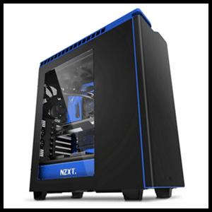 NZXT H440 Negra/Azul - Ventana