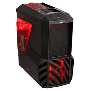 Zalman Z11 Plus HF1 LED Roja