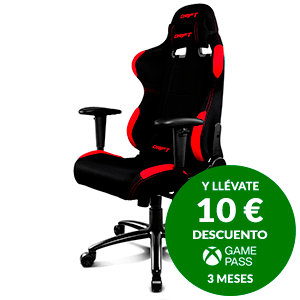 DRIFT DR100 BLACK/RED - SILLA GAMING