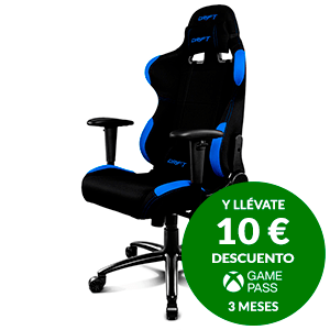 DRIFT DR100 BLACK/BLUE - SILLA GAMING
