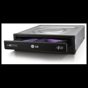 LG GH24NSD1 regrabadora DVD-RW Interna Retail