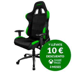 DRIFT DR100 BLACK/GREEN - SILLA GAMING