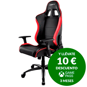 DRIFT DR200 BLACK - RED - SILLA GAMING