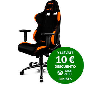 DRIFT DR100 BLACK-ORANGE - SILLA GAMING