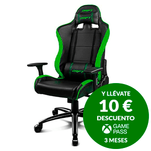 DRIFT DR200 BLACK / GREEN - SILLA GAMING