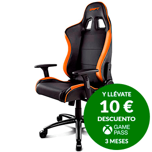 DRIFT DR200 BLACK - ORANGE - SILLA GAMING