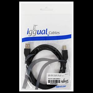 Iggual Cable Usb 2.0 Tipo A - B 1.8mNegro