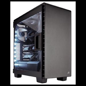 Corsair Carbide Clear 400C Negra - Ventana