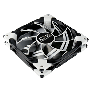 Aerocool Ds Fan Blanco y Negro - Ventilador 140mm
